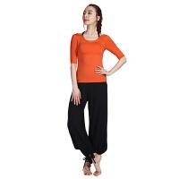 [当当自营]皮尔瑜伽(pieryoga)2018新款瑜伽服套装女 跑步运动健身服修身显瘦两件套 81425阳光橙+黑短