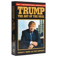 预售 特朗普:交易的艺术 英文原版 Trump: The Art of the Deal 川普 市场研究 Donald