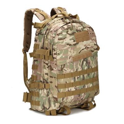 特种兵户外登山包旅游野营徒步迷彩战术背包3D双肩骑行包军迷用品 CP迷彩(送三礼) 新疆西藏 拍前联系客服