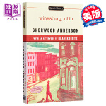 【中商原版】小城畸人 英文原版 Winesburg, Ohio Sherwood Anderson Signet Cl