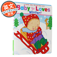 Baby Loves Winter!A Karen Katz Lift-the-Flap Book 宝宝爱冬天【英文原