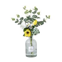 仿真花束假花装饰摆件北欧塑料花客厅花艺摆花餐桌花轻奢餐厅摆设