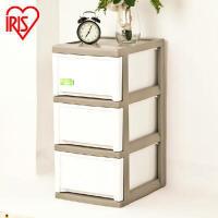 爱丽思IRIS 环保树脂抽屉柜塑料收纳柜整理储物柜宝宝衣柜MCD-324