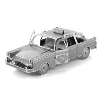 爱拼 全金属 DIY拼装模型 汽车 3D纳米立体拼图 出租车TAXI