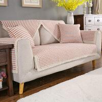 四季棉线沙发垫套装沙发垫坐垫子