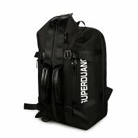 多功能实用潮男双肩包户外旅行大容量方便包男女行李撞色单肩包背包出差手提包休闲商务包
