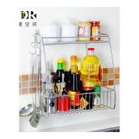 304不锈钢壁挂调料架子厨房置物架 挂式调味架调味瓶架层架