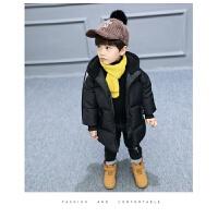 男童棉衣外套男宝加厚中长款装儿童羽绒棉袄2-3-4岁5韩版潮