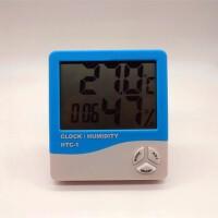 电子数字干湿温度计室内温湿度计家用台式温度表带闹钟家居日用生活日用浴室用品