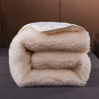 羊毛床垫1.8m床加厚冬季垫子双人垫被家用1.5x2米折叠床褥子1.2米