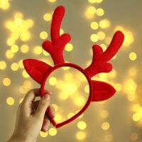 圣诞节礼物小礼品装饰装扮发饰头饰发箍儿童鹿角头扣头箍饰品