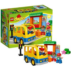 [当当自营]LEGO 乐高 duplo得宝系列 校车 积木拼插儿童益智玩具 10528