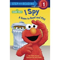 英文原版 芝麻街:I Spy趣味游戏 分级读物 I Spy: A Game to Read and Play (Ses