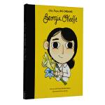 英文原版Georgia O'Keeffe小人物大梦想