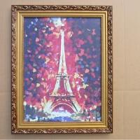 欧式实木相框10 16 18 20 24 寸A3 A4婚纱照片框摆台挂墙定制画框