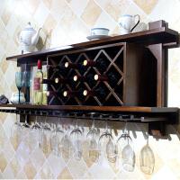 20190402235313242实木酒架壁挂墙上红酒家用墙壁美式现代简约餐厅置物架壁挂式酒柜