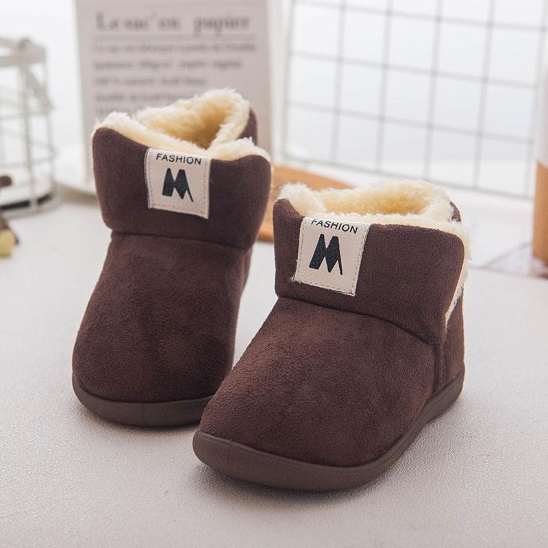 宝宝雪地靴女0一1岁 两婴儿软底冬男1-3小童女童防水防滑婴儿鞋子   【新款上新,支持七天退换货,欢迎购买】