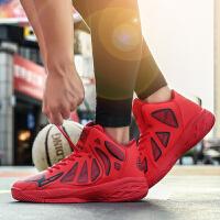 时尚高帮鸳鸯篮球鞋男学生篮球鞋防滑耐磨减震战靴男士运动鞋