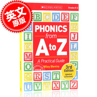 现货 自然拼读法使用指南:从A到Z 第三版 英文原版 Phonics from A to Z: A Practical