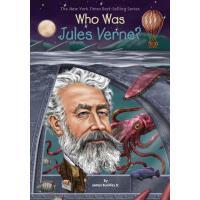 【现货】英文原版 Who Was Jules Verne? 凡尔纳是谁 名人传记 中小学生读物 who was 系列