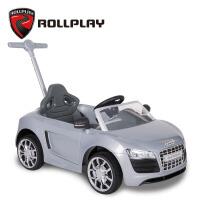 ROLLPLAY如雷儿童手推车奥迪可坐人学步车宝宝防晒童车小孩玩具车