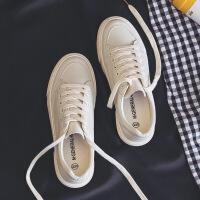 基础百搭小白鞋2019春季新款韩版布鞋休闲帆布鞋女平底冬季棉鞋子