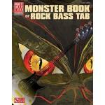 【预订】Monster Book of Rock Bass Tab