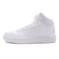 adidas/阿迪达斯NEO女鞋秋季新款运动鞋小白鞋高帮板鞋休闲鞋B42099