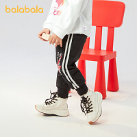 【3件4折:75.6】巴拉巴拉童�b男童�子加�q�����和��L�秋冬2020新款小童潮酷�r尚