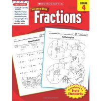 Scholastic Success with Fractions, Grade 4 学乐成功系列:四年级分数【英文原