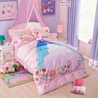 君别女童床上用品四件套公主房1.2m床品女孩1.8儿童床单三件套1.5