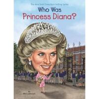 【中商原版】戴安娜王妃是谁? 英文原版 Who Was Princess Diana? 历史名人百科