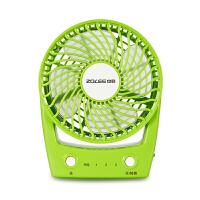 中联ZLU03-100迷你微风扇电风扇小风扇小电扇台式手持USB充电无线静音学生宿舍车载
