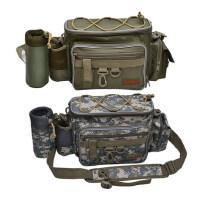 多功能路亚腰包挎包竿包钓鱼包矶钓包渔具包大腰包工具包