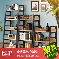 书架落地 铁艺卧室阳台置物架多层收纳架家用房间储客厅