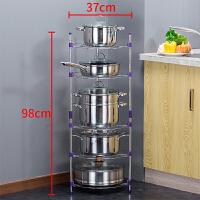 放锅架子厨房置物架厨房用品收纳架放锅架多层落地转角储物架层架