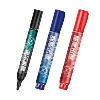 金万年G-0631液体白板笔 直液式大容量可加墨水性笔 会议教学笔 10支
