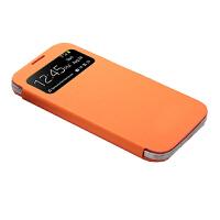 坚达 手机壳 拆后盖保护套 翻盖皮套单开窗商务风外壳三星S4 i9500皮套 免运费