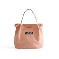 帆布袋手提袋�盒袋折�B便�y�n版小清新拎包�h保布袋�э�包便��包