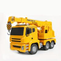 无线遥控挖掘机挖土机工程车儿童玩具汽车充电遥控车模型