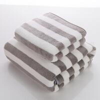 2条装 珊瑚绒毛巾比纯棉吸水家用男女儿童不掉毛洗脸速干大浴巾