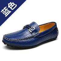 DAZED CONFUSED 豆豆鞋男鳄鱼纹驾车鞋3847休闲鞋青春潮流英伦单鞋