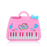 儿童可弹奏卡通电子琴女孩多功能可充电卡通钢琴1-3-6岁玩具乐器