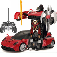 【当当自营】美致模型1:14帕加尼电动变形机器人一键变形USB充电动感音效舞步儿童汽车玩具儿童汽车玩具2339白色