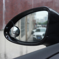 舜威汽车小圆镜 高清无边倒车后视镜360度可调广角盲区镜