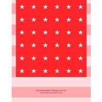 【预订】Dot Grid Notebook, 250 Pages, 8x11, Us Flag Series, Tru