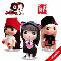 ddung/冬己韩国正版卡通迷糊洋娃娃女孩儿童宝宝芭比娃娃玩具玩偶