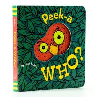 【中商原版】英文原版 mamago 微信 Peek-A-Who? 进口原版 猜猜我是谁