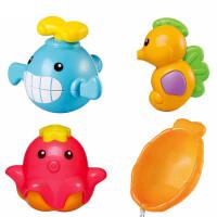 auby澳贝海洋沐浴套装463509幼儿宝宝戏水奥贝婴儿童洗澡玩具