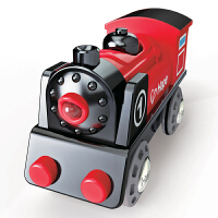 Hape电动1号列车3-6岁火车轨道电动小火车婴幼玩具木制玩具E3703